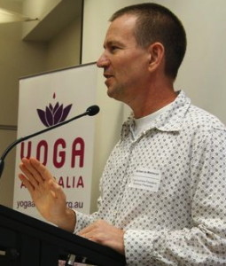 Michael de Manincor at Yoga Australia Conference