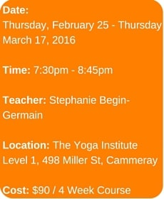 Pop Up Yoga Course