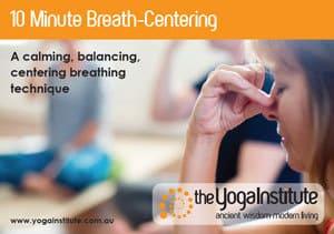 Pratiloma Ujjayi Breath Centering Practice